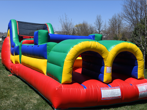 bounce party supplies bounce house rental 36 foot obstacle course bouncepartysupplies.com