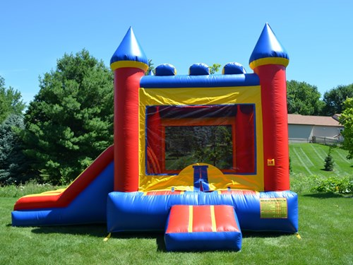 bounce party supplies bounce house rental combo with double slide bouncepartysupplies.com