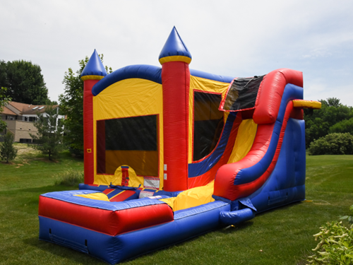 bounce party supplies bounce house rental combo with super slide bouncepartysupplies.com